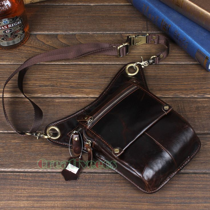 Men's Genuine Leather Travel Motorcycle Riding Messenger Shoulder Fanny Pack Waist Thigh Drop Leg Bag Caribbean -- AliExpress Affiliate's Pin. Detailed information can be found by clicking on the VISIT button