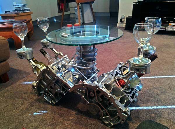 60 Best Engine Block Cof Table Images On Pinterest