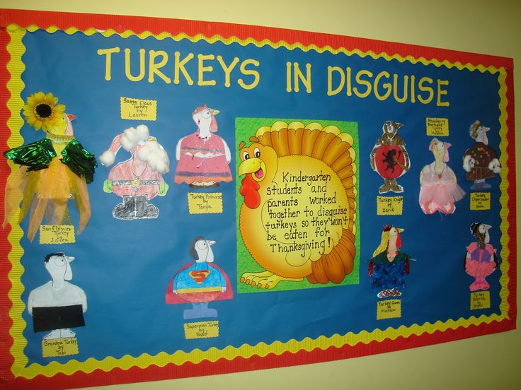 """I used to do this writing activity with my class.. they would """"disguise"""" their turkey and then write about what it was disguised as so it would not be eaten for dinner :)"""