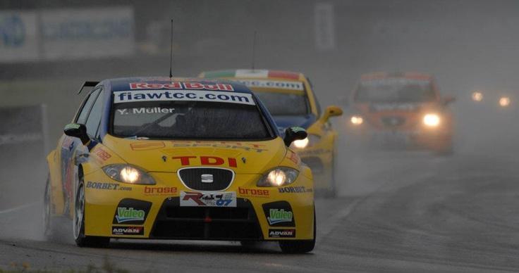 Yvan Muller. SEAT León TDI WTCC. Anderstorp 2007