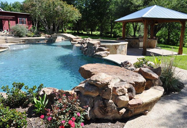 51 best diving rock images on pinterest - Used swimming pool slides for inground pools ...