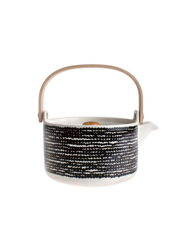 Oiva/Räsymatto tea pot, pattern design Maija Louekari & product design Sami Ruotsalainen