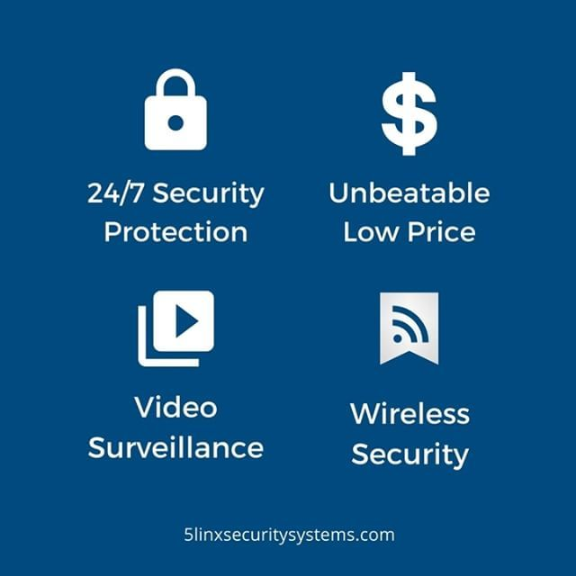 A home being burglarized every 14 seconds in the United States, there's no reason to wait. Call 5 LINX Security Systems now and secure what matters most!