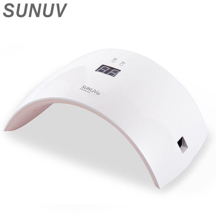 SUNUV SUN9X Nail Dryer SUN9S Upgrade 24W Nail Lamp Time Display Button Sensor Control LED UV Lamp Curing UV LED Nail Gel Machine
