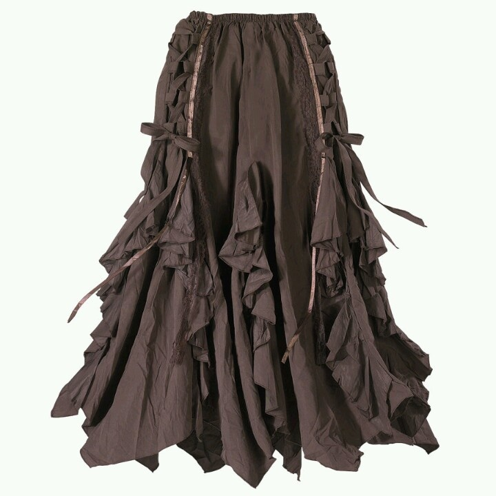 From The Pyramid Collection  Ribboned Bark Skirt  $69.95