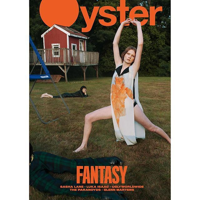 Let me be your fantasy... Oyster #111 cover Photography: @rebekahcampbell   Fashion: @thistlebrown   Makeup: @hollysilius   Hair: @yuhi_kim @ Bridge   Production assistant: Akira Nagano   Casting: @yuenchan01 @ Yuen Chan Casting   Models: @llienee @fusionmodelsnyc @marzipanjupiter @ New York Models @raimundolanglois @midlandagency and Ulises @ Stella Model and Talent Agency #oystermagazine #fantasy #oyster111 via OYSTER MAGAZINE OFFICIAL INSTAGRAM - Celebrity  Fashion  Haute Couture…