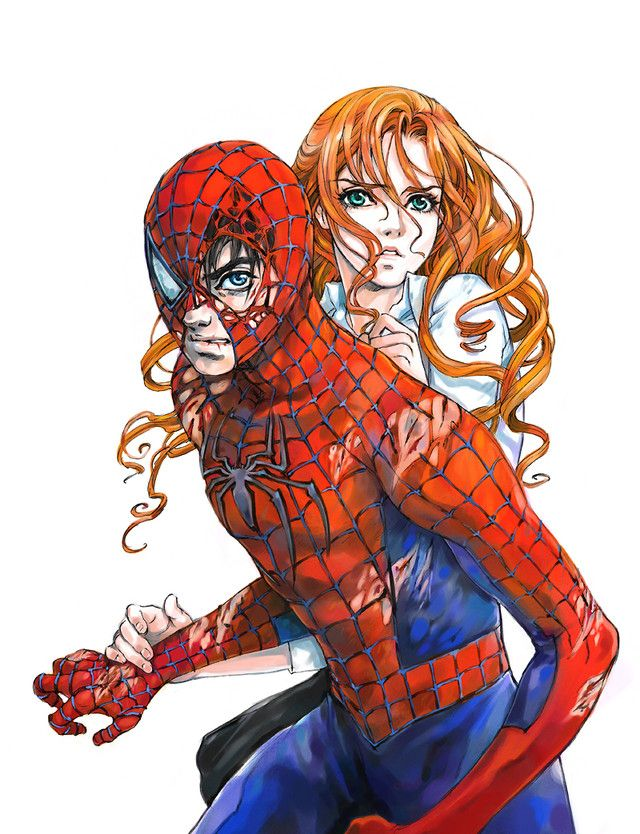 when does spider man meet mary jane
