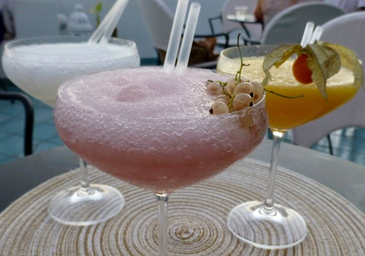 More cocktails to die for at Le Fioriere in Praiano