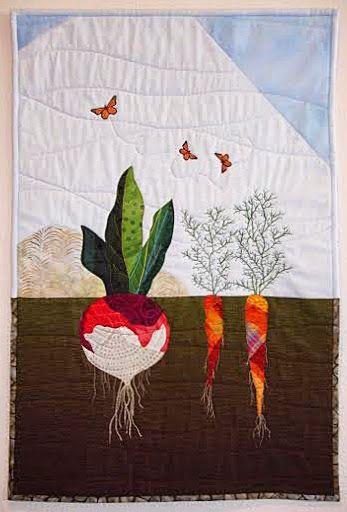 Sew Your Garden class by  Laura Jaszkowski | Joy in Cloth