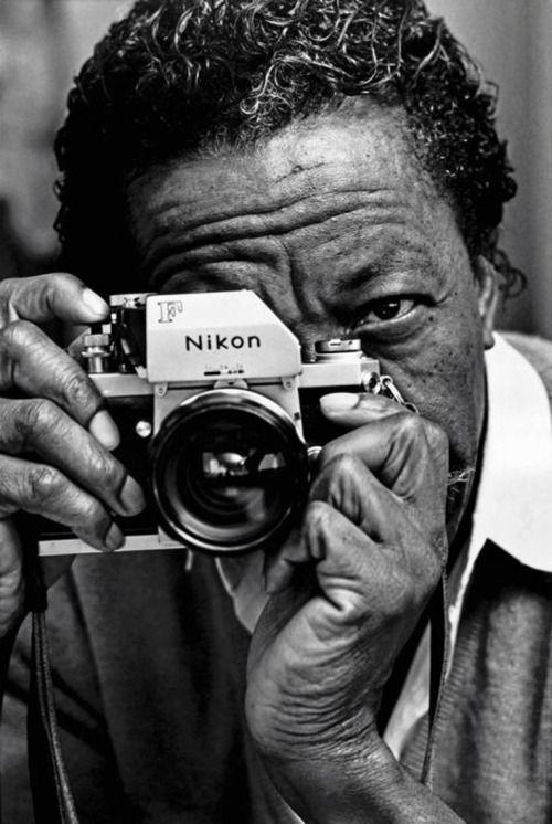 Gordon Parks  Nikon F, 1970.