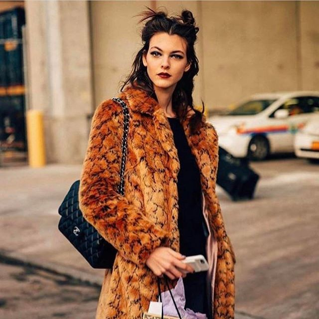 After landing two separate Vogue covers in the last 10 months  not to mention starring in high fashion campaigns for the likes of Bottega Veneta Givenchy and more  its clear that 19-year-old Vittoria Ceretti is one to watch. And did we mention she also walked in a whopping 42 shows last season?  But despite an already buzzworthy career the Italian beauty remains refreshingly down-to-earth describing her look as casual young and comfy and explaining her obsession with running in the parks…