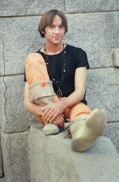 Peter Tork of The Monkees.