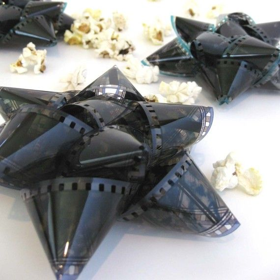 photography film hand made gift bows