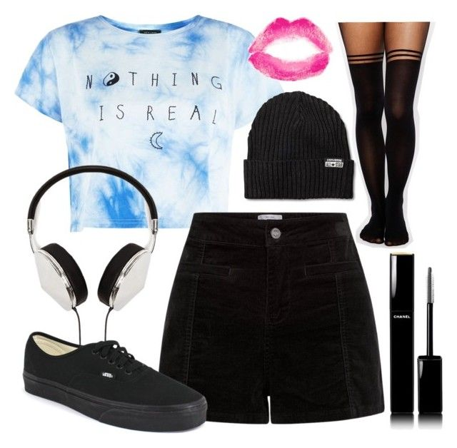Day Out by briana-mason94 on Polyvore featuring ASOS, Vans, Converse, Frends, Chanel and Topshop