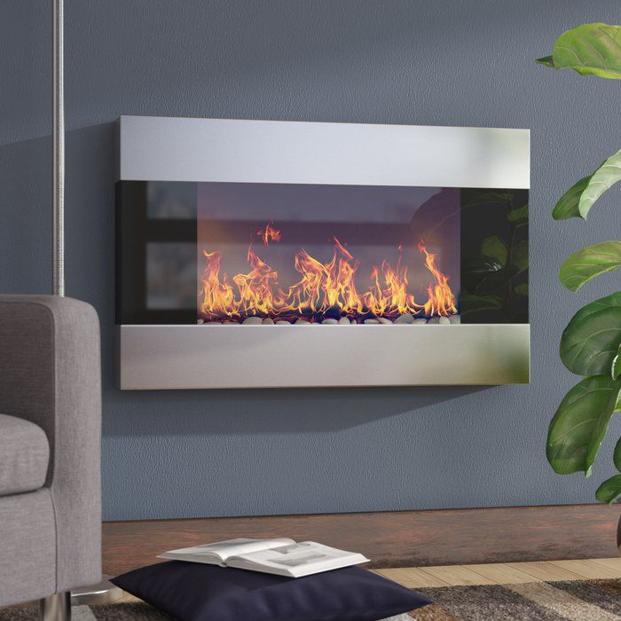 Clairevale Wall Mounted Electric Fireplace Wall Mount Electric Fireplace Electric Fireplace Electric Fireplace Reviews