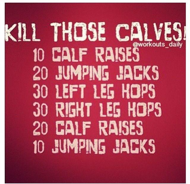 Calf exercise