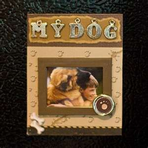 dog scrapbook ideasScrapbook Ideas, Dog Scrapbook, Dogs Ideas, Excel Dogs, Dogs Hanks, Dogs Crafts, Scrapbook Layout, Frames Ideas, Dogs Scrapbook