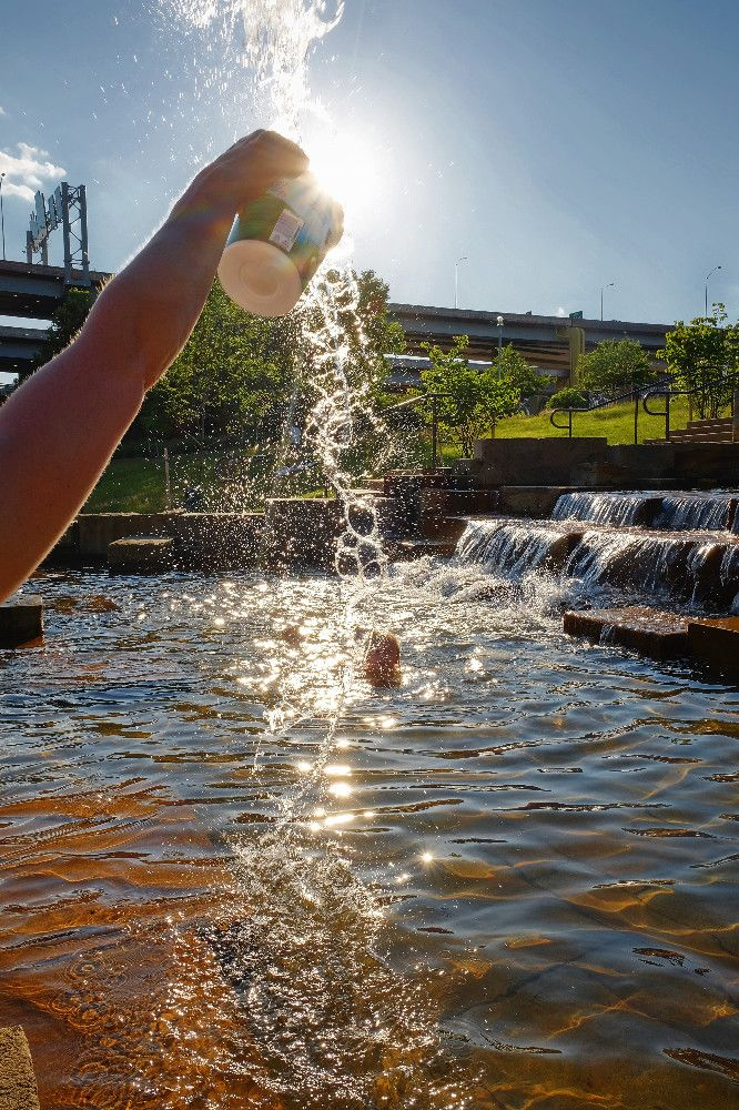 Water Steps at PNC Park - A perfect place to cool off for kids young and young at heart. Take in the view while soaking for feet along the Three Rivers Heritage Trail.