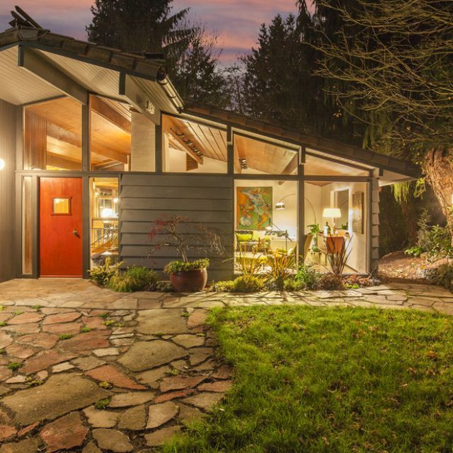 mid century modern classic unearthed in northgate
