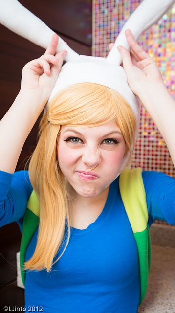Fionna from Adventure Time #Cosplay #ACEN #2013