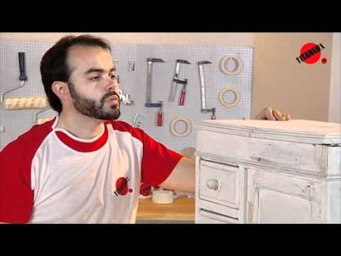 Como restaurar um móvel - YouTube