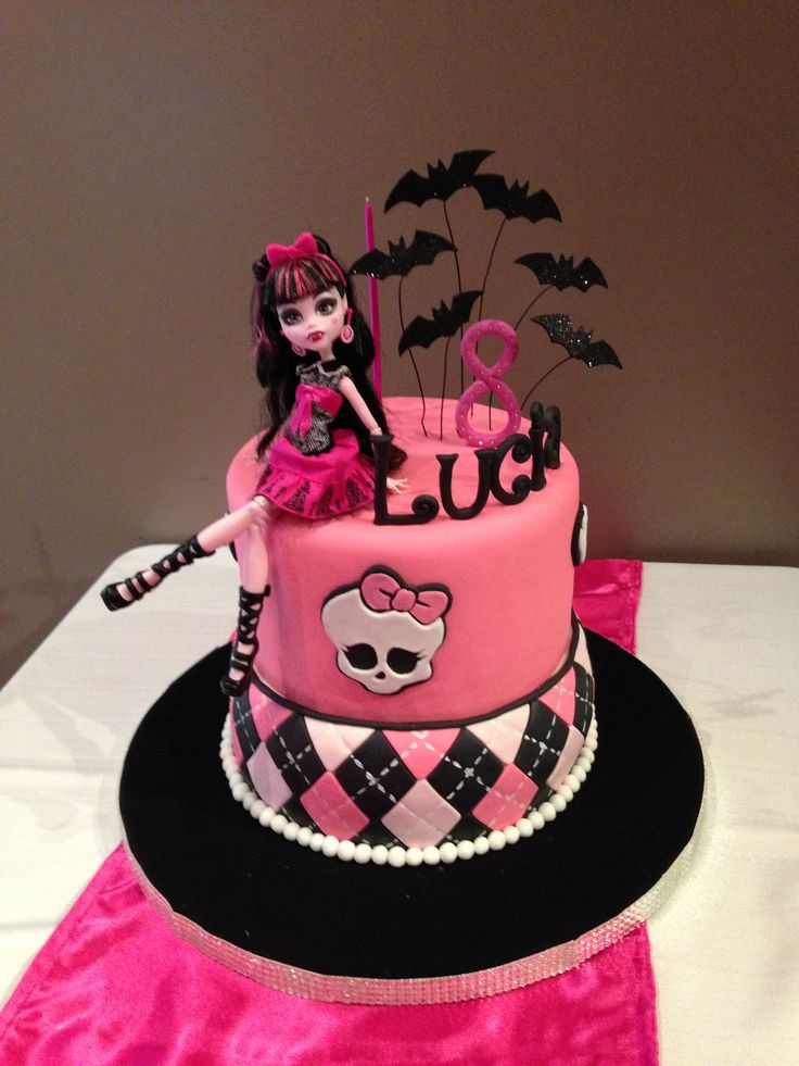 Torta Monster High. Monster high cake. facebook.com/pages/Dreams-Sweets