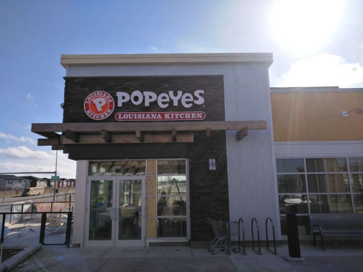 Happy to be working with Popeyes Canada Acrylic Pinmount and Halo lit letters on their location in Evanston.  Can't wait to try the chicken!  #AcrylicPinmount #HaloLit #Signage #CalgarySigns #YYC #YYCSigns #Signage #Alberta #AlbertaSigns #Business #RestaurantSigns