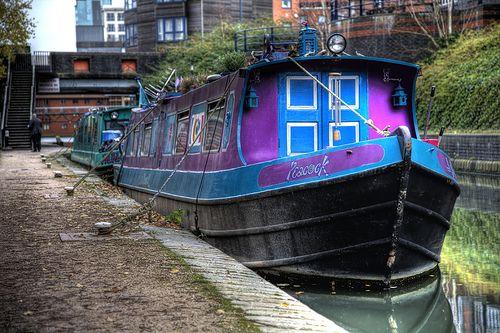 Intensity of color!  #Narrowboat #Holiday #Boats