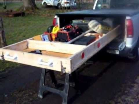 How to Build a Handy Storage Slide for Your RV, Workshop, Tool Shop, Work Van and More.. - YouTube