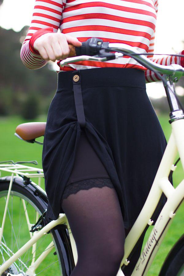 How to bike in a skirt — Bike Pretty