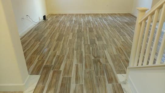 Wood Tiles Bedroom