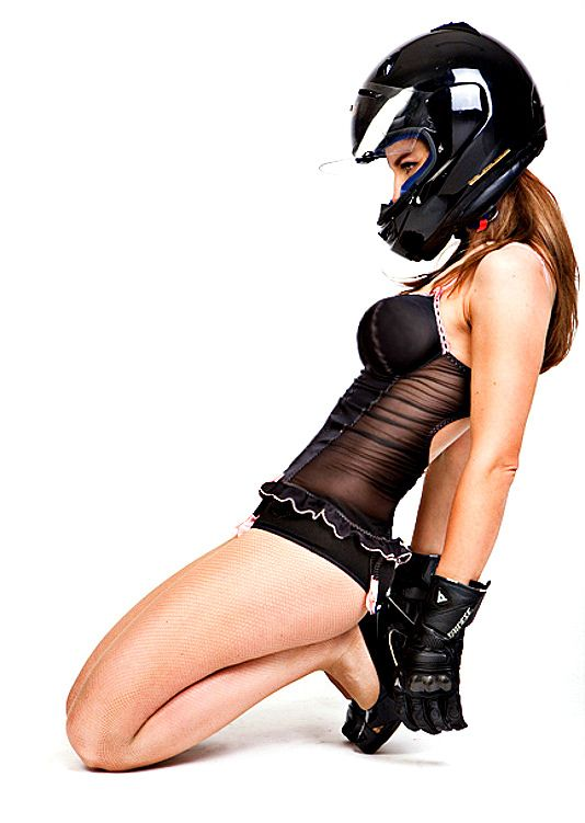 Sexy girl helmet — pic 15