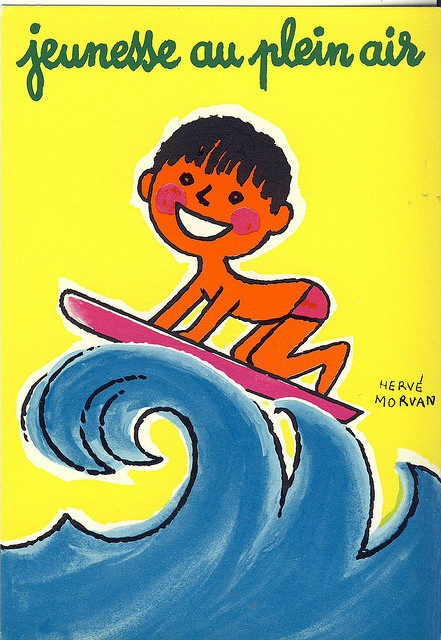 Jeunesse au plein air surfing by herve morvan, via Flickr