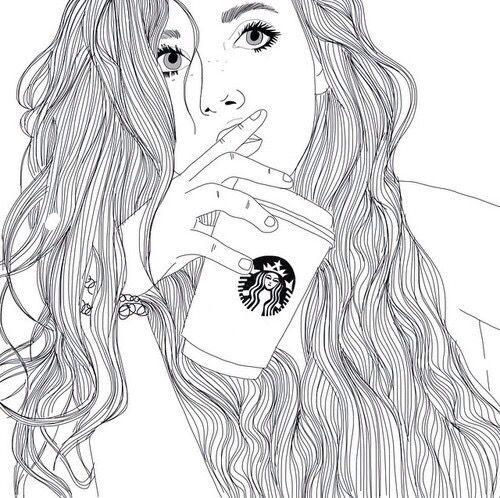 art, beauté, noir et blanc, dessin, yeux, fille, grunge, cheveux, luxe, maquillage, équipement, parfaitement, perfection