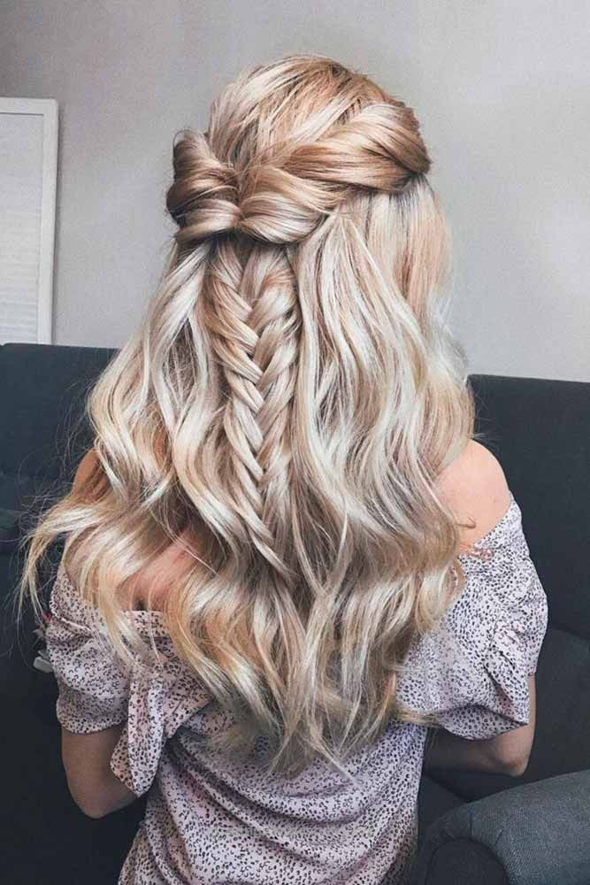 homecoming hair down styles best 25 prom hairstyles ideas on 1035 | 5241f697c58bc3f29a5886cf48312d64