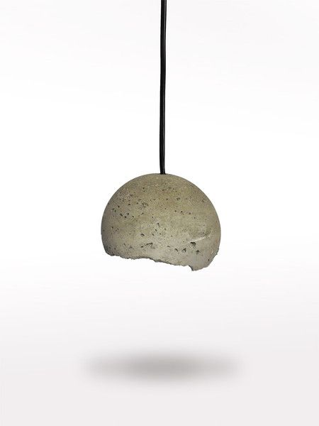 Ceiling Lights – Concrete moon lamp – a unique product by LumiLamp on DaWanda