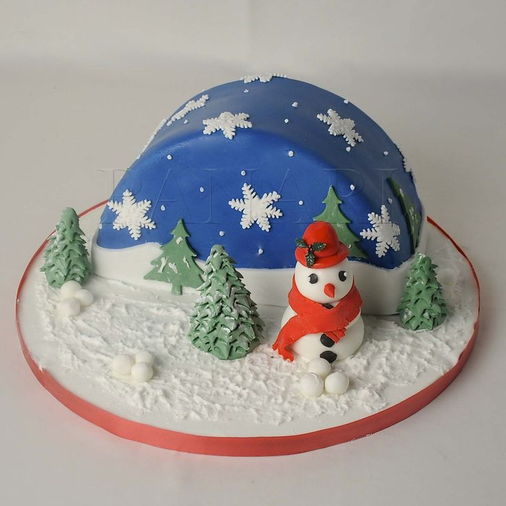 Cake Decoration For Christmas : Best 25+ Christmas cakes pictures ideas on Pinterest ...