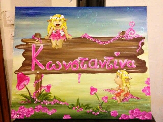 Konstandina-acrilyc on canvas