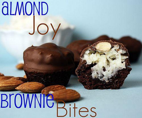 Almond joy brownies, Almond joy and Brownie bites on Pinterest
