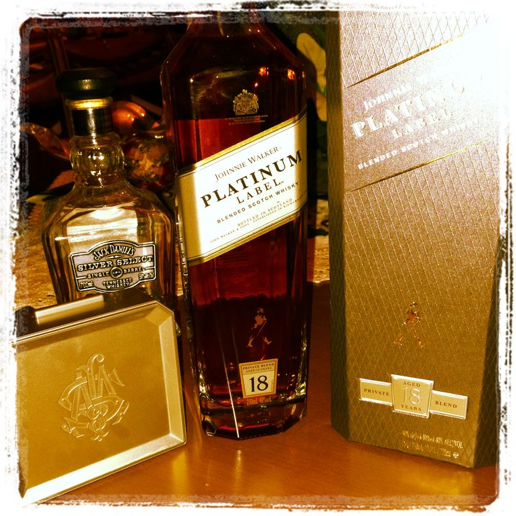 Platinum Label - Silver Select Jack Daniels ... Whiskey