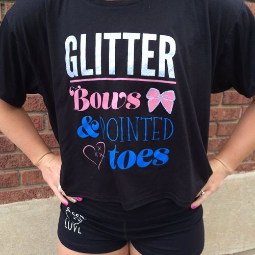 Cheerleading T-Shirt. So cute!