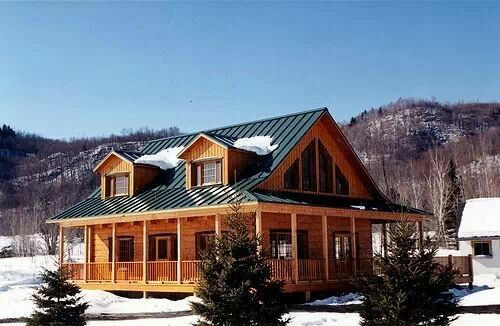 Wholesale log homes.com