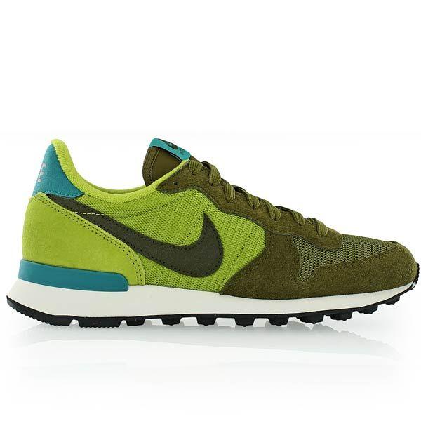 nike sportswear internationalist - baskets basses - military green/dark obsidian/carbon green