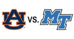 Get Tickets to see the MTSU Blue Raiders take on the Auburn Tigers in College Basketball at Bridgestone Arena on December 12! #Basketball #Sports #Nashville #MTSU