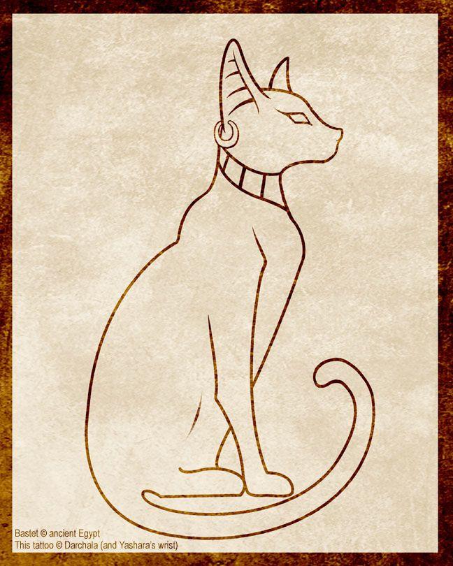 Bastet-Cat Goddess One of my next tattoo ideas
