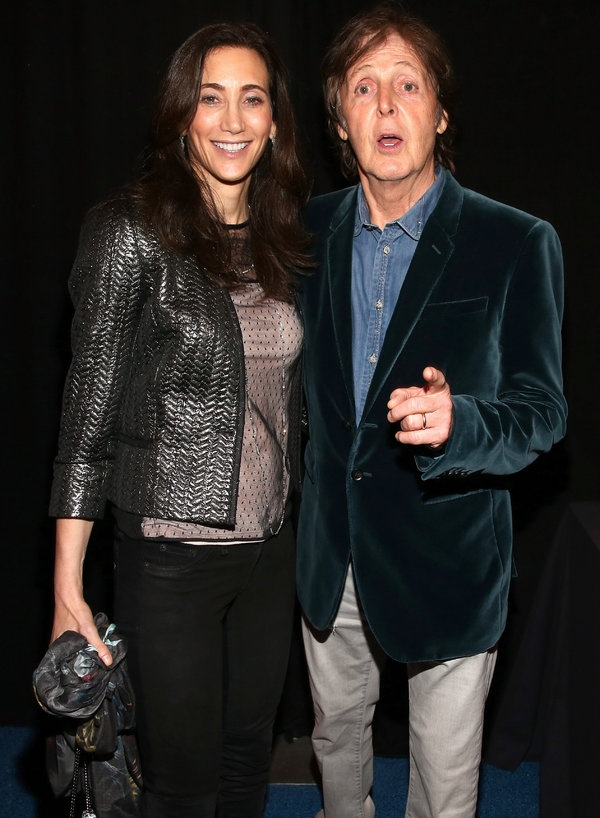 NEW ORLEANS, LA - FEBRUARY 02: Paul McCartney (R) and Nancy Shevell attend DIRECTV Super Saturday Night Featuring Special Guest Justin Timberlake & Co-Hosted By Mark Cuban's AXS TV on February 2, 2013 in New Orleans, Louisiana. (Photo by Christopher Polk/Getty Images for DirecTV)