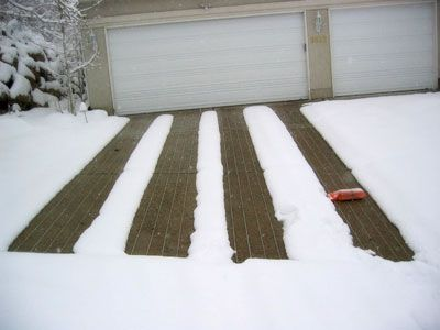 61 Best Snow Melting And Heated Driveways Images On