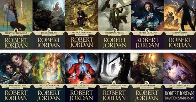 The Wheel Of Time by Robert Jordan | The 51 Fantasy Series You Need To Read Before You Die