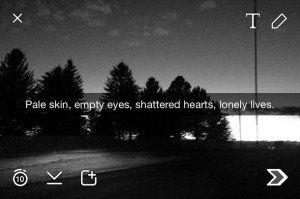 Snapchat Tumblr Sad Quotes