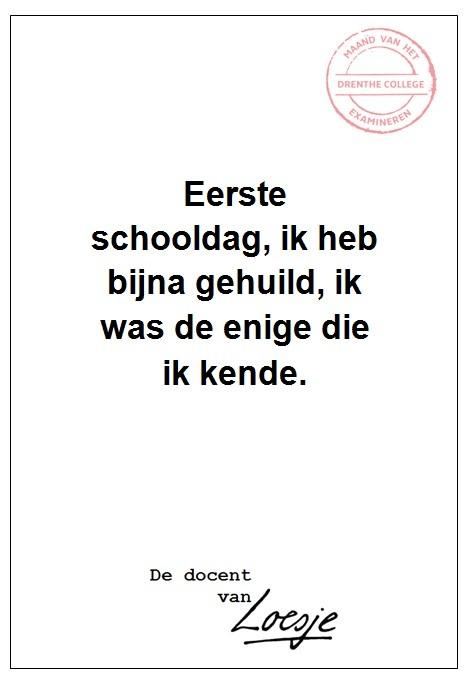 Drenthe College - Eerste schooldag - Patrick Stadtman